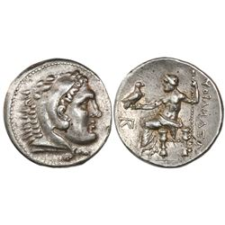 "Kingdom of Macedon, AR tetradrachm, Alexander III (""the Great""), 336-323 BC, struck in the names of"