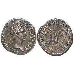 Roman Empire, AR denarius, Nerva (Marcus Cocceius Nerva), 96-98 AD, Rome mint, struck 97 AD.