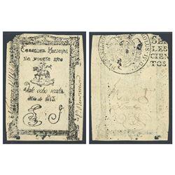 Puerto Rico, Tesoreria Nacional, 8 reales, 1813, series 1, serial 117154, certified PMG Choice Very