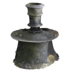 Shipwreck: Copper-alloy candelabra.