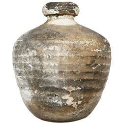 "Shipwreck: Intact earthenware ""olive"" jar."