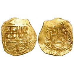 Seville, Spain, cob 2 escudos, (159)6B.