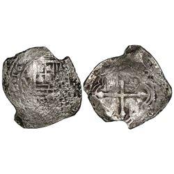 Mexico City, Mexico, cob 8 reales, 164(?)(P).