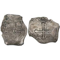 Mexico City, Mexico, cob 8 reales, 165(?)P.