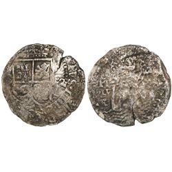 Potosi, Bolivia, cob 8 reales, (16)52E transitional Type IV, ex-Mastalir collection.