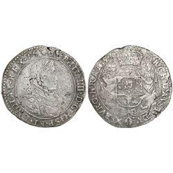 Brabant, Spanish Netherlands (Brussels mint), portrait ducatoon, Philip IV, 1665.