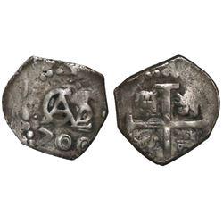 Lima, Peru, cob 1/2 real, 1700.