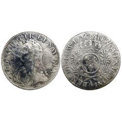 France (Paris mint), ecu, Louis XV, 1726-A.