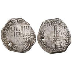 Potosi, Bolivia, cob 8 reales, (1)619(T).