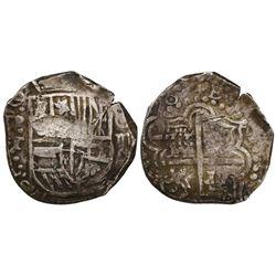 Potosi, Bolivia, cob 4 reales, (162)0T, rare.