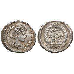 Roman Empire, AR siliqua, Valens, 364-378 AD, Antioch mint, struck circa 370 AD.