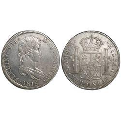 Guatemala, bust 8 reales, Ferdinand VII, 1815M.
