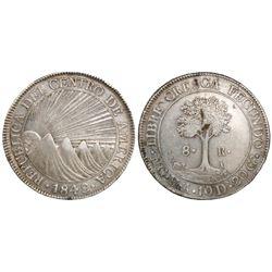 Guatemala (Central American Republic), 8 reales, 1842MA.