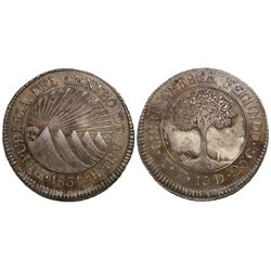 Honduras (Central American Republic), 2 reales, 1831TF.