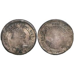 Tegucigalpa, Honduras, 4 reales, 1849G.