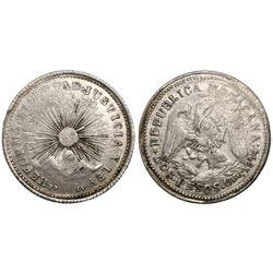Guerrero, Mexico, 2 pesos, 1914.