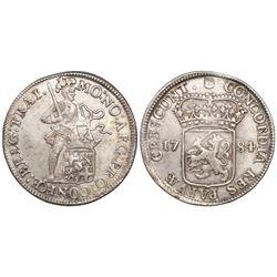 Utrecht, Netherlands, silver ducat (48 stuivers), 1784.