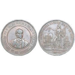Cuba, bronze medal, 1902, First President Estrada Palma proclamation.