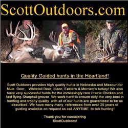 4-day hunt  Broken Bow, Nebraska, for one hunter