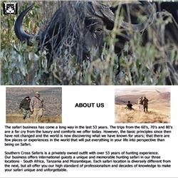 Rifle Safari  in the Eastern Cape of South Africa