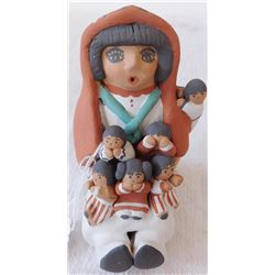 Jemez Pottery Storyteller