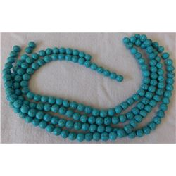 4 Strands Dyed Howlite Beads