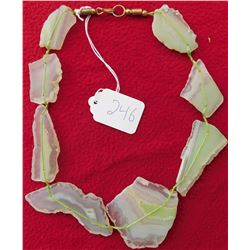 Agate Slab Necklace