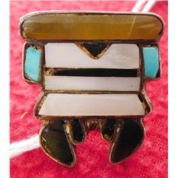 Zuni Stone-to-Stone Ring