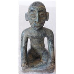 Pre-Columbian Jadeite Seated Figure