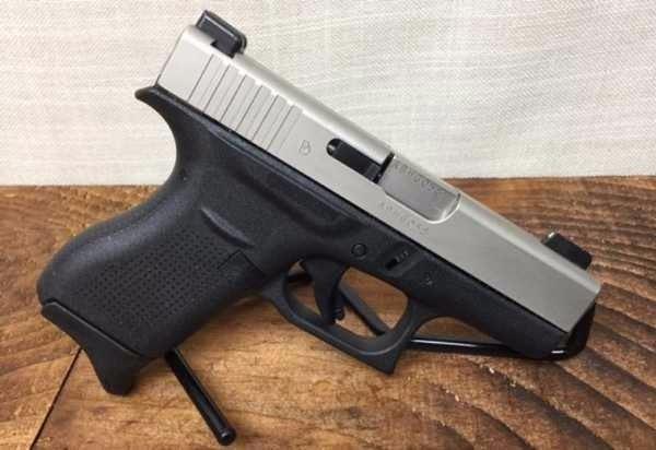 Glock 42  380 Upgraded Nickel Bourn Slide and Barrel, Night