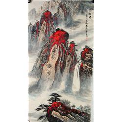 Watercolour on Paper Wei Zixi 1915-2002