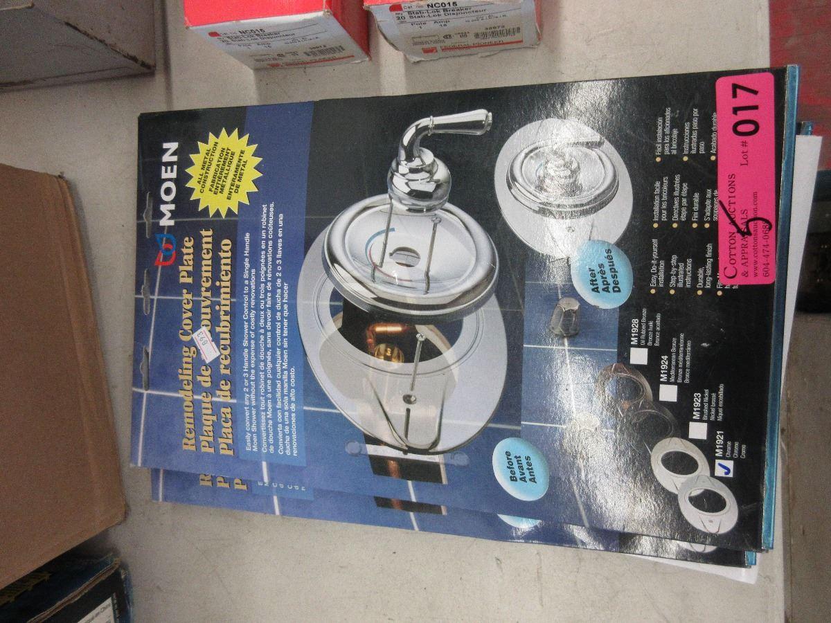 5 Moen Shower Remodeling Cover Plate Kit