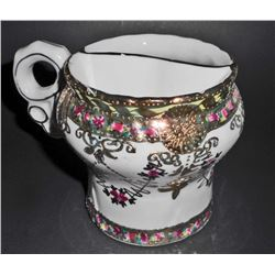 BEAUTIFUL VICTORIAN ERA INSPIRED MUSTACHE SHAVE CUP