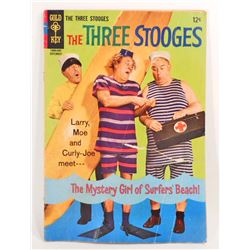 VINTAGE 1966 THE THREE STOOGES COMIC BOOK - 12 CENT COVER