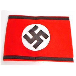 GERMAN NAZI WAFFEN SS OFFICERS OVERCOAT ARM BAND
