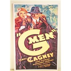 JAMES CAGNEY G MEN MOVIE POSTER PRINT