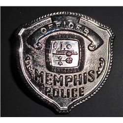 OBSOLETE MEMPHIS POLICE OFFICER LAW BADGE