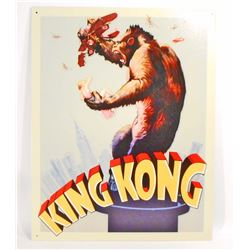 KING KONG METAL SIGN