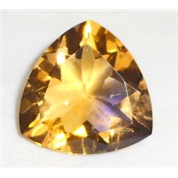 13.5 CT TRILLION CUT PURPLE AND YELLOW AMETRINE
