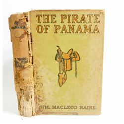 "ANTIQUE 1914 ""THE PIRATE OF PANAMA"" HARDCOVER BOOK"