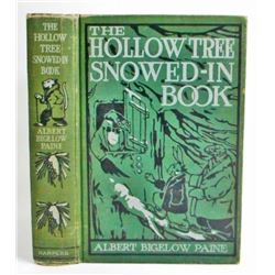 "1910 ""THE HOLLOW TREE SNOWED IN BOOK"" ANTIQUE HARDCOVER BOOK"