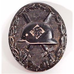 GERMAN NAZI BLACK WOUND BADGE
