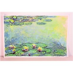 MONET WATER LILIES ART POSTER PRINT