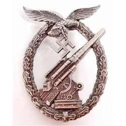 GERMAN NAZI LUFTWAFFE FLAK ARTILLERY BADGE