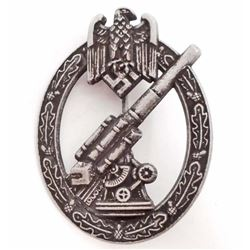 GERMAN NAZI ARMY FLAK ARTILLERY BADGE
