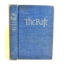 """1942 """"THE RAFT"""" HARDCOVER BOOK"""