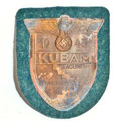 NAZI GERMAN ARMY KUBAN COMBAT SLEEVE SHIELD
