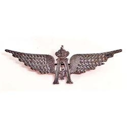 BELGIAN AERO AVIATOR PILOT WING