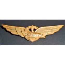 ITALIAN NAZI GERMAN LUFTWAFFE ITALIAN AXIS AVIATOR PILOT WING