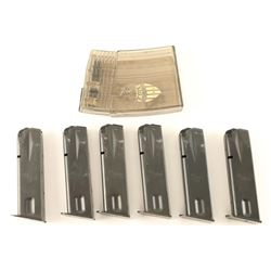 Collection of 6 Sig Sauer P226 9mm Magazines